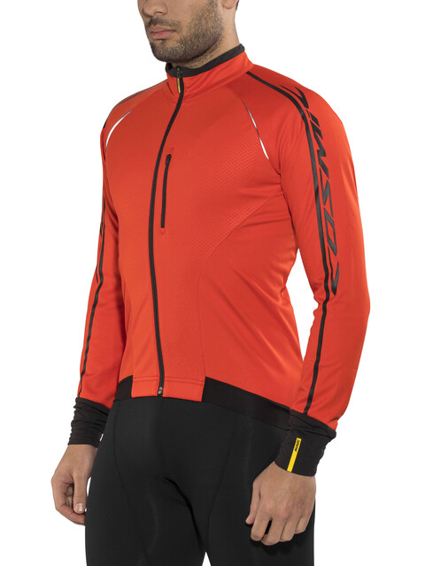 Mavic Cosmic Elite Thermo Jacket Men racing red/black